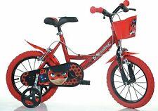 Bike 14 Miraculous Lady Bug Girl 4 7 Years Dino Bikes Made in Italy