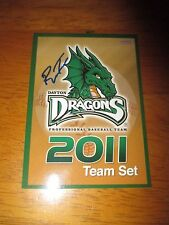 RONALD TORREYES Yankees Signed 2011 Dayton Dragons Team Set Card AUTO Autograph