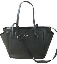 Coach F57786 Black Multifunction Crossgrain Leather Diaper Baby Bag