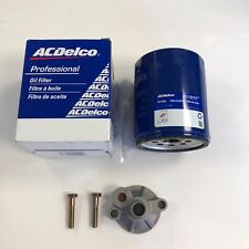 SBC Chevy Oil Filter Adapter SBC Chevrolet With AC Delco Filter
