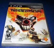 Twisted Metal Sony PlayStation 3  *Factory Sealed! *Free Shipping!