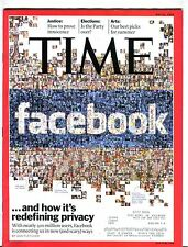 Time Magazine May 31 2010 Facebook EX w/ML 090516jhe