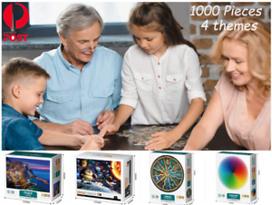 Jigsaw Puzzles for Adults 1000 Pieces Interesting toy Brain Teaser Unique Hard