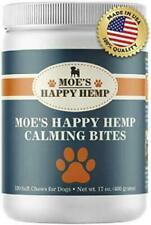 Moe's Happy Hemp Organic Calming Bites Stress & Anxiety Relief 120 chews-Chicken