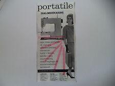 advertising Pubblicità 1960 MACCHINA PER CUCIRE SALMOIRAGHI 44