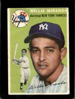 1954 TOPPS #56 WILLY MIRANDA GOOD+ YANKEES  *X11833