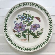 Portmeirion Botanic Garden Virgins Bower Dinner Plate Susan Williams-Ellis