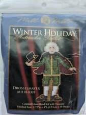 MILL HILL  Drosselmayer Nutcracker-Winter Holiday Cross Stitch Beading Kit NIP