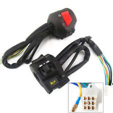 Pair Of 7/8''Motorcycle Handlebar Horn Turn Signal Light Control Switch Assembly