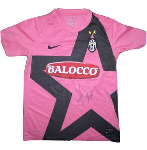 Signed Rare Juventus Away Shirt By Kwadwo Asamoah Inter Milan Ghana