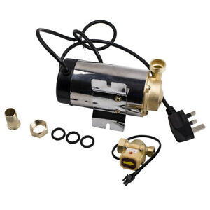NEW Water Booster Mains Pressure Shower Pump Electric Home Boost 90W