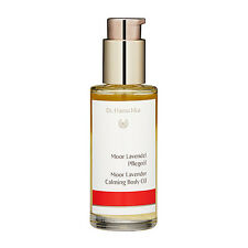 Dr. Hauschka Moor Lavender Calming Body Oil 75ml Bath Body Care Massage #14527