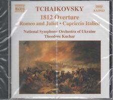 Tchaikovsky T. Kuchar National Symphony Orch. CD NEU 1812 Overture Romeo & Julia