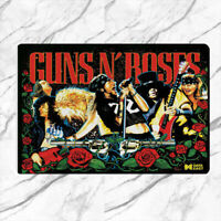 Guns N Roses Rug Mat Floor Door Pinball Home Flannel carpet