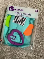 Gummee Glove Happy hands Small Asd Autism Chewing Blue Purple Heart Teething