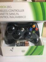 Microsoft Xbox 360 Wireless Controller - Black - NIB