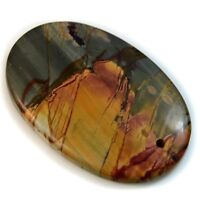 Natural Red / Cherry Creek Jasper FRONT DRILLED Oval Pendant Bead Collection