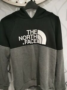 North Face Hoodie Black Grey *Size XL Boys Youth*