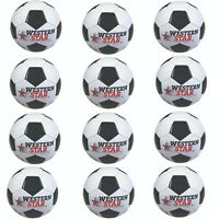 Official Size Western Star 5 Soccer Ball Wholesale Bulk Lot of 12