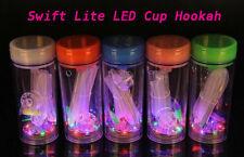 Mini Portable Swift Lite Hookah LED Cup Lighter-Travel Size-One Hose.New!!!!