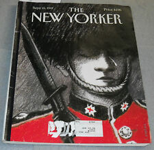 The New Yorker Magazine September 15 1997 Last Salute Last Rites Grief For Diana