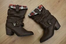 WOMENS ROCKET DOG SIZE 6 BROWN COWBOY BOOTS