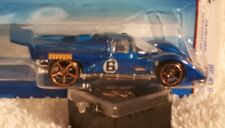 Hot Wheels 2006 First Editions Blue Ferrari 512 M #5/38 with Fte Wheels Col#163