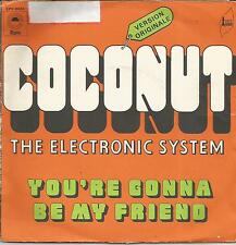 THE ELECTRONIC SYSTEM Coconut FRENCH SINGLE EPIC 1972