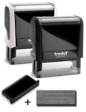 Timbro Personalizzato Trodat 4913, 58X22 mm autoinchiostrante
