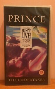 Prince – Live! The Undertaker VHS [EX+]