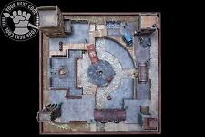 Malifaux Venice City Quarters, hand-crafted, PP 3D playing board for Malifaux