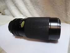 Tokina AT-X 50-250mm 4-5.6 Canon FD lens used