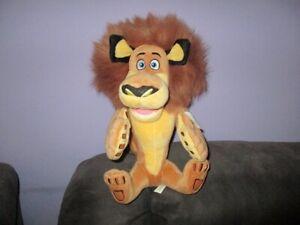 Madagascar  large soft plush toy- Alex (sitting) has tag