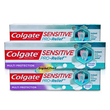 3x Colgate Sensitive Pro Relief Long Lasting Multi Protection Toothpaste 75ml