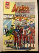Archie & Friends & The Shield Comic Book October 2002 Celluloid Heroes