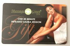 40 minute Infrared Sauna Session - Massage Green Spa