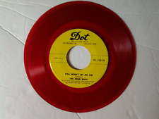 """The Four Dots 45 rpm """"My Dear"""" DOT 1043 on RED-WAX"""