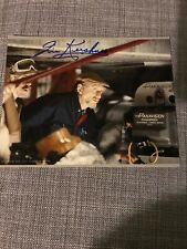 IRVIN KERSHNER STAR WARS SIGNED AUTOGRAPH 10x8 With Proof