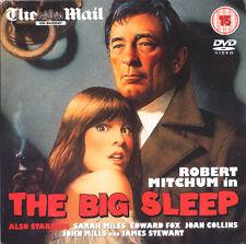 CLASSIC = THE BIG SLEEP stars ROBERT MITCHUM JAMES STEWART = VGC PROMO CERT 15