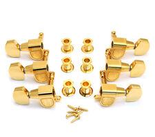 TK-0971-002 Schaller 3x3 Gold Guitar Tuning Keys M6GD Machine Heads