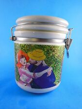 """Starbucks Cannister 6.5"""" with Lid Chaleur Burrows Renoir Dance at Bougival"""