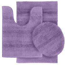 Tapis de bain violet pour salle de bain