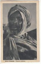 CARTE POSTALE AFRICA ORIENTALE NOMADE SUDANESE
