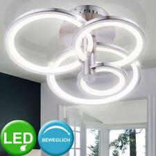 Lámpara de techo LED Dormitorio Anillo Iluminación focos, AJUSTABLE FOCOS
