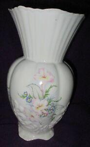Vintage Maryleigh Staffordshire Pottery Ceramic Floral Decorative Vase 23cm