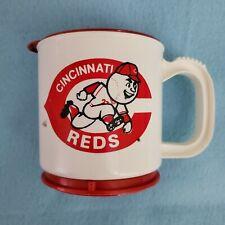 "VINTAGE - CINCINNATI REDS COFFEE MUG / CUP ""FRISCH'S""  NOS"