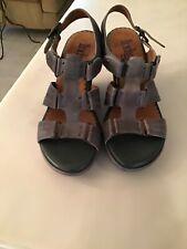 Indigo By Clarks Women Gray Wedges Size US 7B