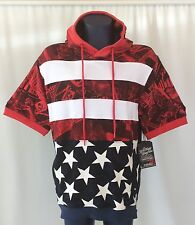 Men's Sz L Red White & Blue by America Goods Co - Celebrate July 4th -Very Nice