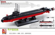 Sluban submarine Military warship series Lego Compatible Building Blocks Toy new