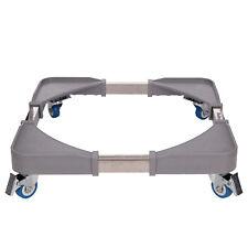 Universal Washing Machine Fridge Stand Appliance Wheel Adjustable Trolley Roller